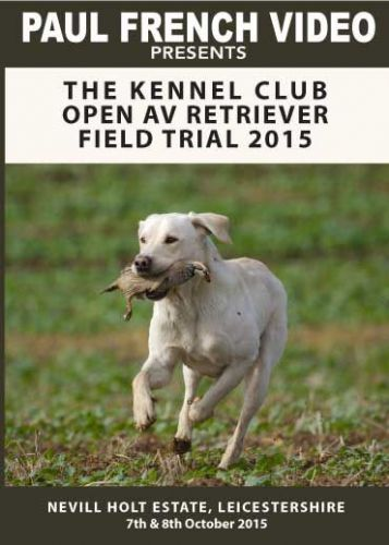 2015 Kennel Club Open AV Retriever Field Trial